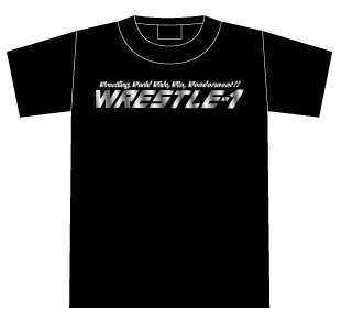 """OFFICIAL WEB SHOP限定!"" WRESTLE-1 ロゴTシャツ"