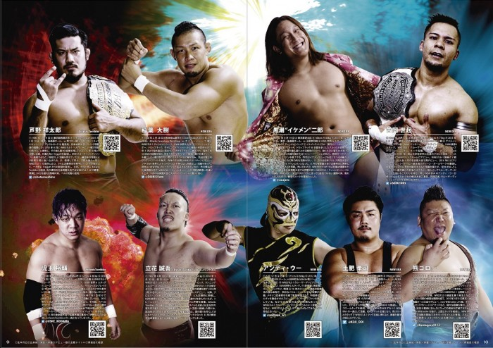 WRESTLE-1 2017 OFFICIAL GUIDEBOOK No.5