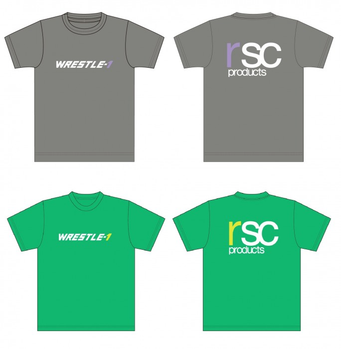 WRESTLE-1 × rscproducts コラボT シャツ