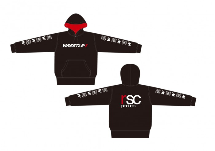 WRESTLE-1 × rscproducts コラボパーカー